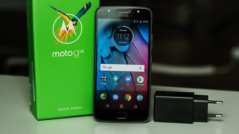 test du moto g5s toujours une r f rence androidpit. Black Bedroom Furniture Sets. Home Design Ideas