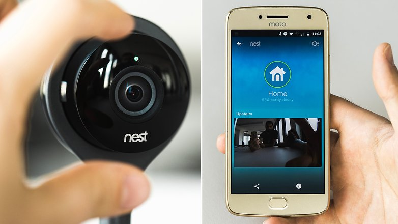 AndroidPIT Nest indoor security cam 3855
