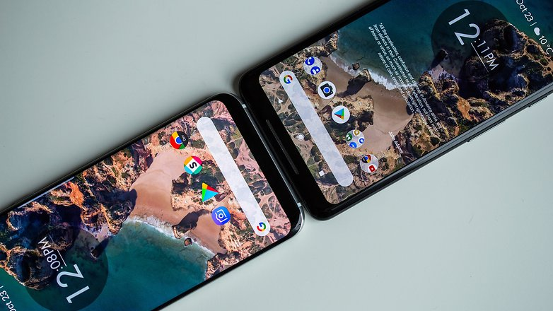 AndroidPIT pixel 2 xl display 1471