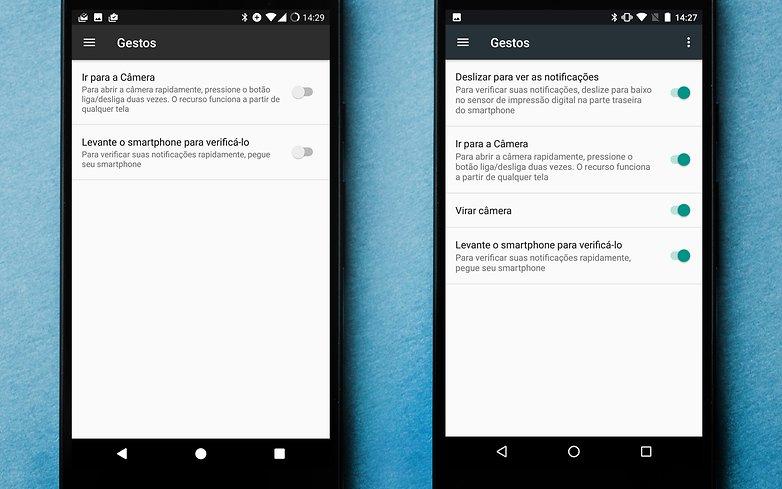 AndroidPIT Nexus 5X gestos 1