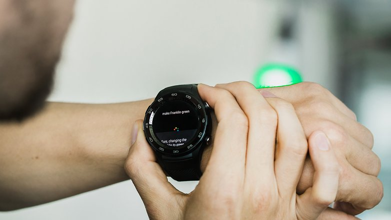 AndroidPIT huawei watch philips hue 5830