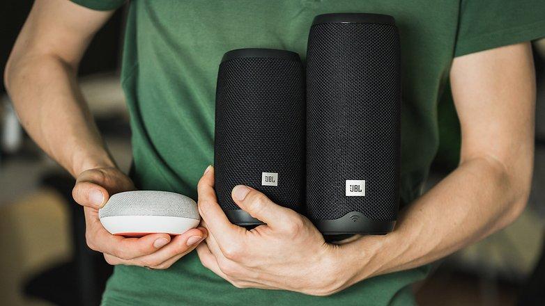 AndroidPIT jbl link 20 10 smart home speaker 6184