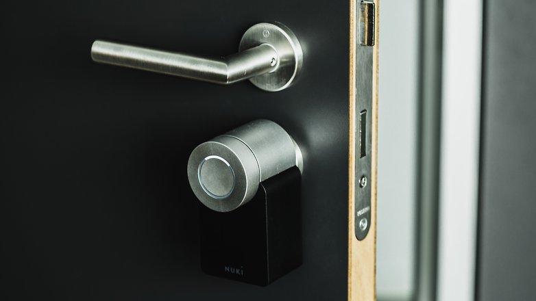 AndroidPIT nuki keyturner smart lock 0992