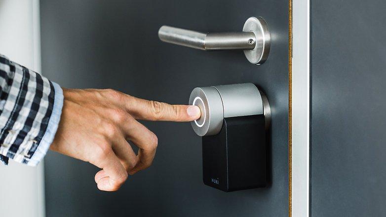 AndroidPIT nuki keyturner smart lock 1050