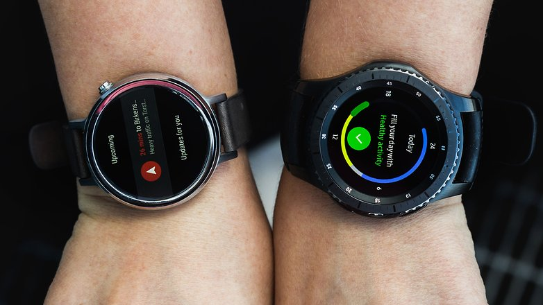 ANDROIDPIT Android Wear vs Tizen OS 0001