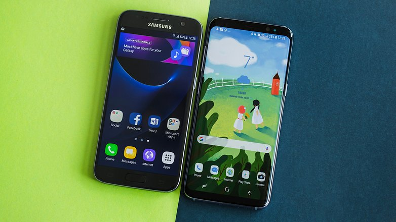 AndroidPIT Galaxy S8 vs Galaxy S7 comparison 2502
