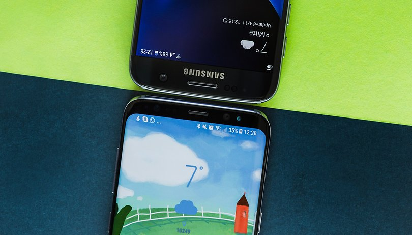 Galaxy S8 vs Galaxy S7: vale a pena o upgrade?
