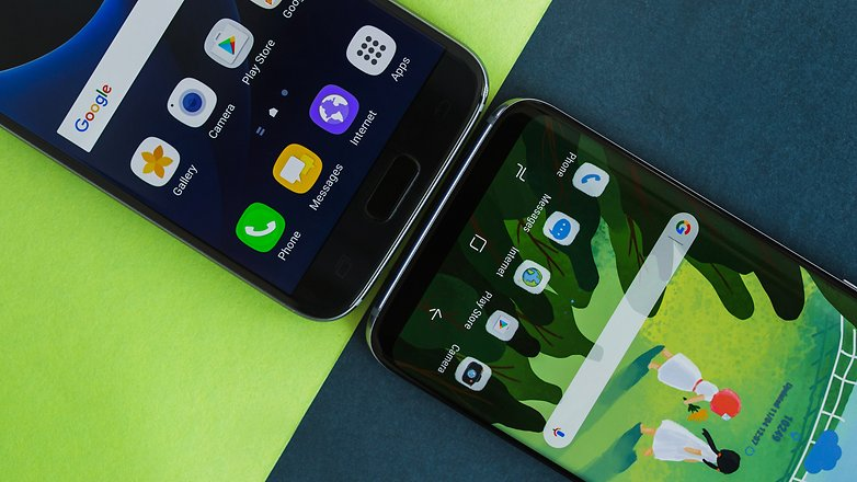 AndroidPIT Galaxy S8 vs Galaxy S7 comparison 2509