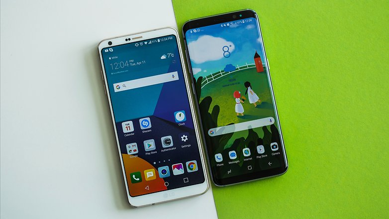 AndroidPIT Samsung Galaxy S8 vs LG G6 2441