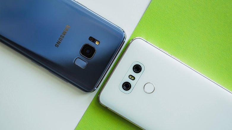 AndroidPIT Samsung Galaxy S8 vs LG G6 2450
