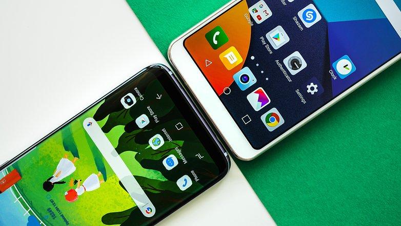 AndroidPIT Samsung Galaxy S8 vs LG G6 2458