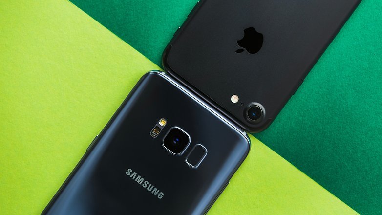 AndroidPIT Samsung Galaxy S8 vs iPhone 7 2362
