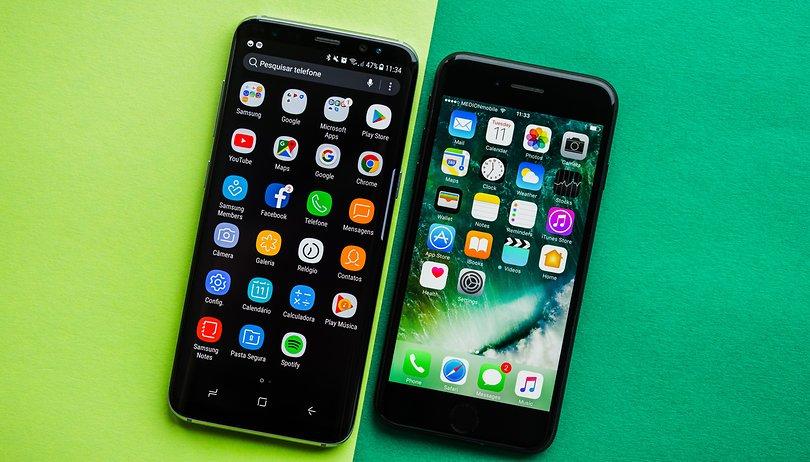 Galaxy S8 vs iPhone 7 : tour d'horizon en vidéo !