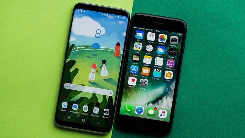 comprar iphone 7 con samsung s8