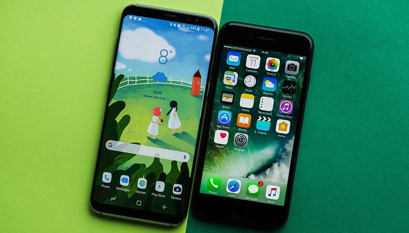 Galaxy S8 vs iPhone 7: Comparación preliminar de un duelo eterno