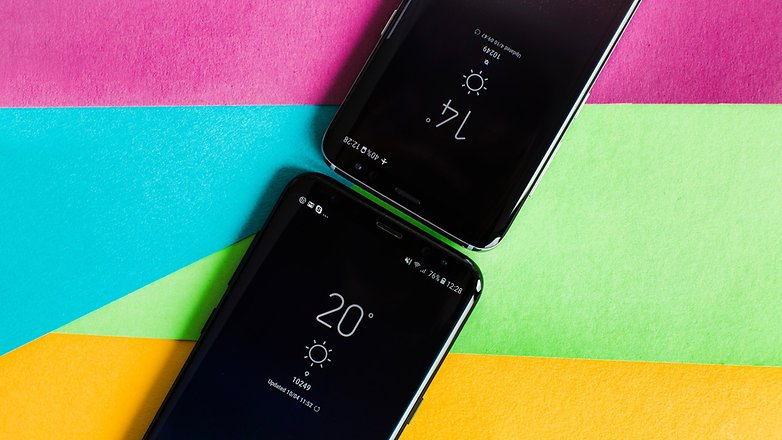 AndroidPIT Samsung Galaxy S8 vs S8plus 2062
