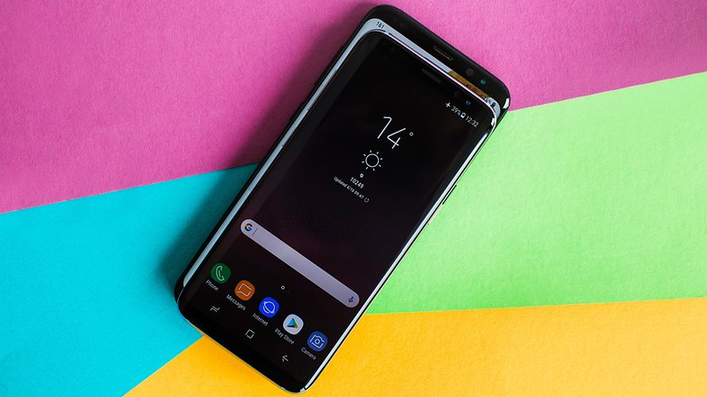 AndroidPIT Samsung Galaxy S8 vs S8plus 2073