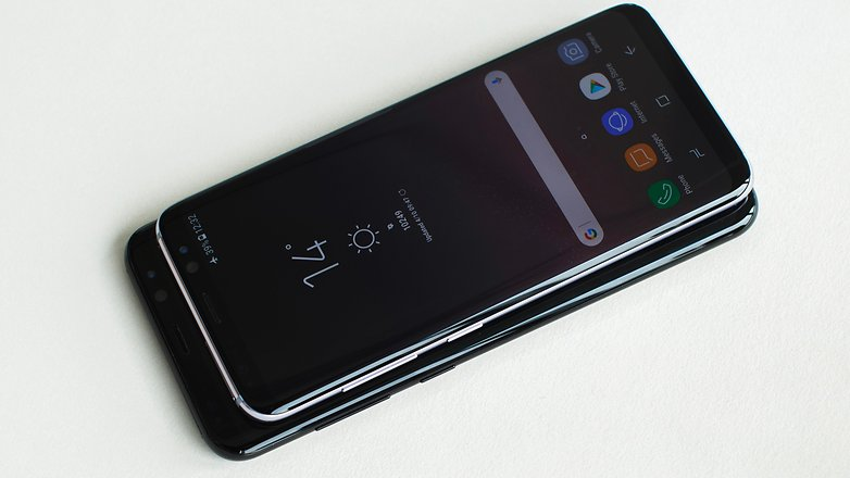AndroidPIT Samsung Galaxy S8 vs S8plus 2075