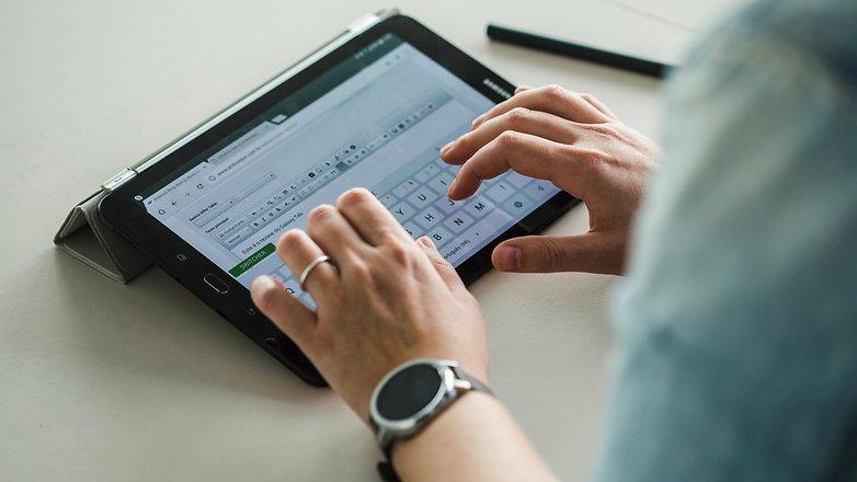 AndroidPIT Samsung Galaxy Tab S3 2210