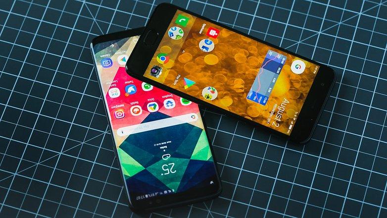 AndroidPIT Samsung Galaxy s8 vs xiaomi mi 6 6925