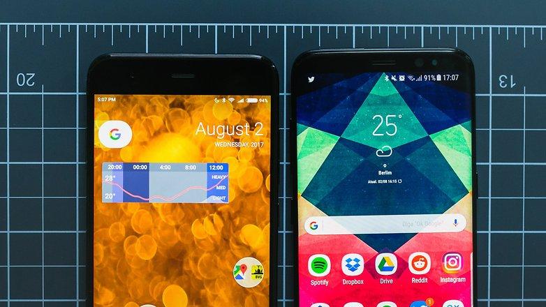 AndroidPIT Samsung Galaxy s8 vs xiaomi mi 6 6930