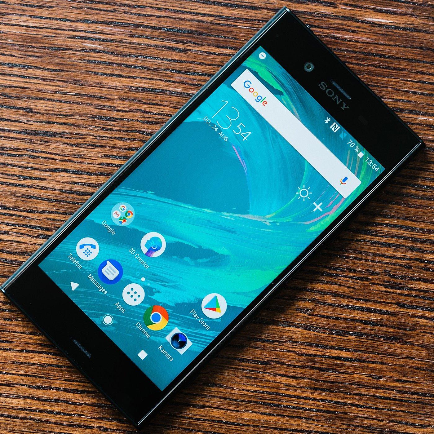 Sony Xperia XZ1 im Test: Frühstart mit Folgen   AndroidPIT