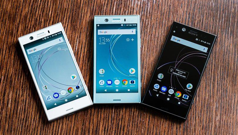 Android-Updates für Sony Xperia XZ1/XZ2/Compact und XZ Premium