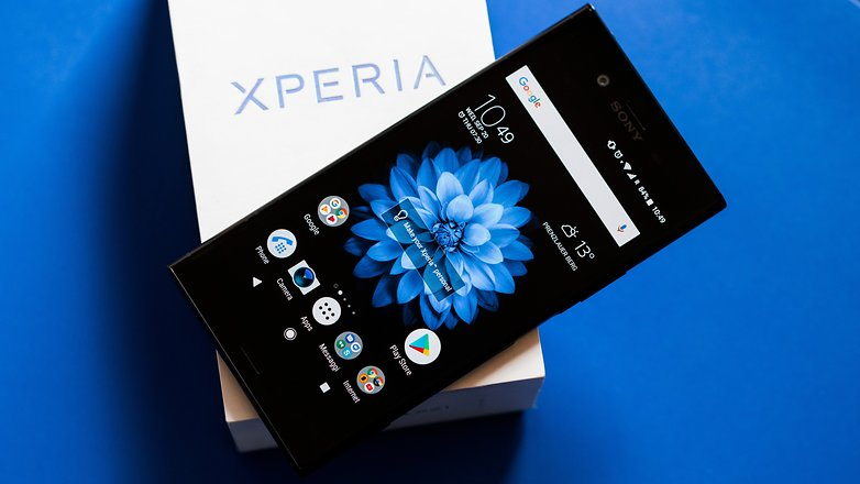 AndroidPIT sony xperia xz1 review 9173