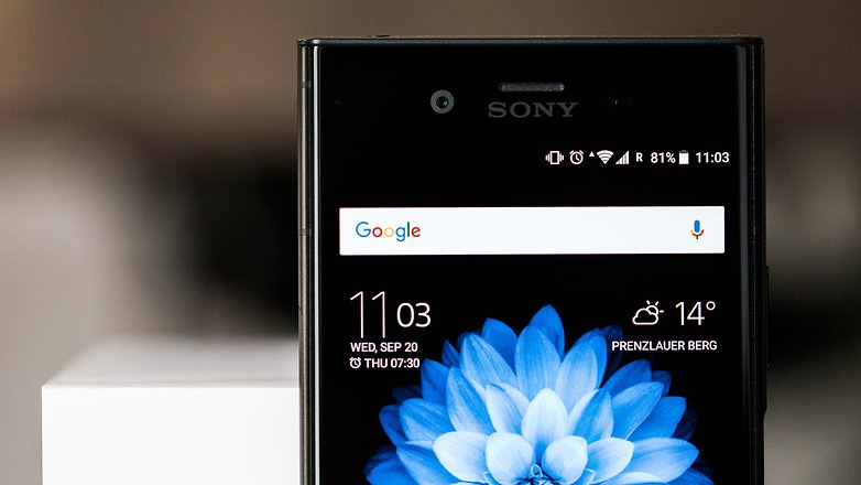 AndroidPIT sony xperia xz1 review 9247