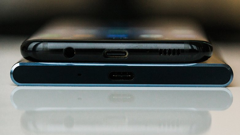 AndroidPIT Sony xperia XZ Premium vs Samsung galaxy s8 0615