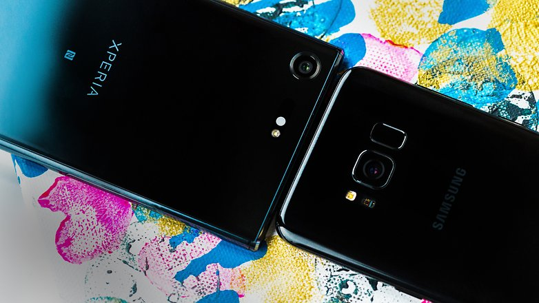 AndroidPIT Sony xperia XZ Premium vs Samsung galaxy s8 0641