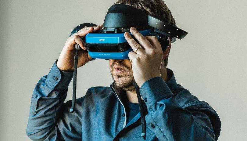 Acer Mixed Reality Headset im Kurztest: Überzeugend geht anders