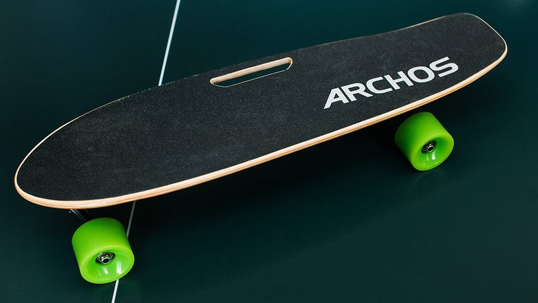 AndroidPIT archos sk8 electric skateboard boosted 9395