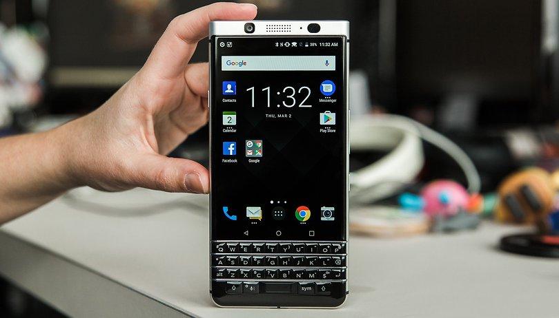 BlackBerry KEYone: So kommt Euch das Display entgegen