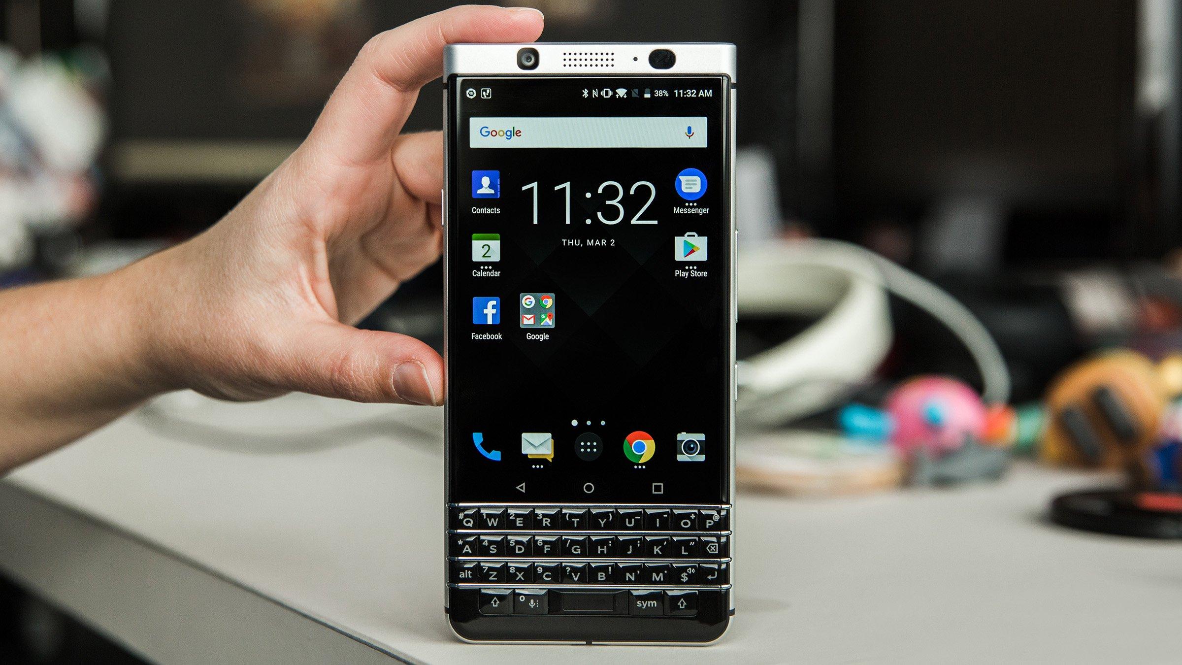 Blackberry Keyone So Kommt Euch Das Display Entgegen Androidpit