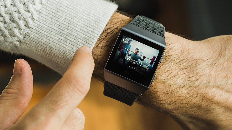 AndroidPIT fitbit ionic 3492