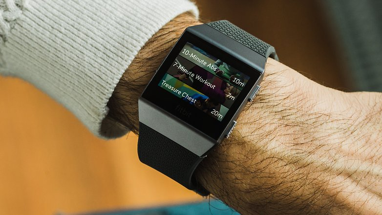 AndroidPIT fitbit ionic 3502