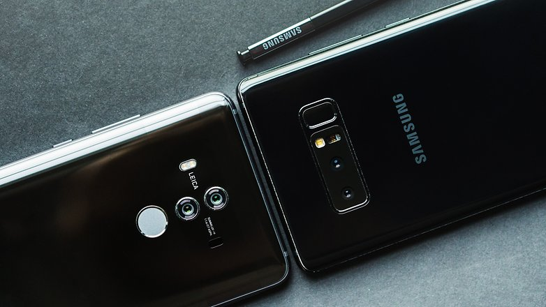 AndroidPIT galaxy note 8 vs huawei mate 10 pro 2435