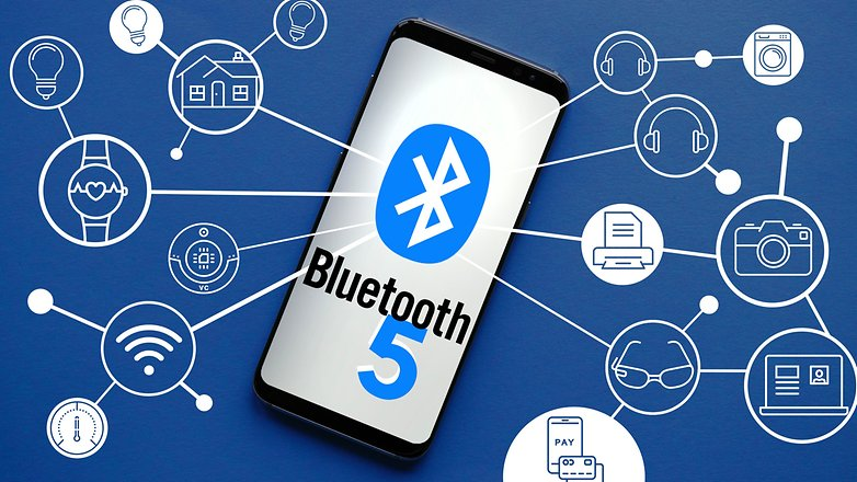 AndroidPIT Samsung Galaxy S8 BLUETOOTH 5
