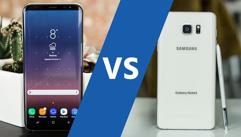 Samsung Galaxy S8+ vs Note 5: is it time to upgrade?
