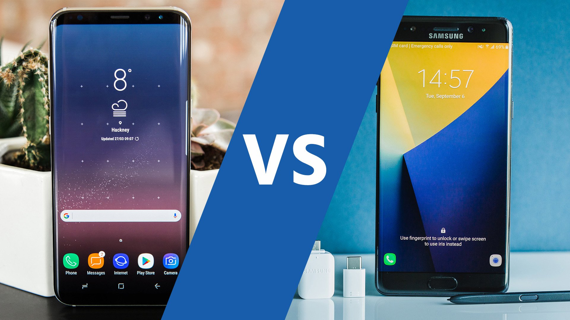 AndroidPIT Samsung Galaxy S8 plus vs Note 7