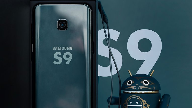 AndroidPIT Samsung Galaxy S9 rumor HUB