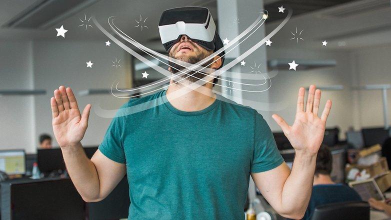 AndroidPIT VR glasses Nausea