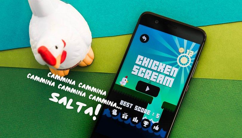 Chicken Scream : un jeu qui va faire du bruit