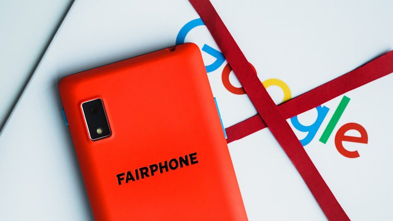 AndroidPIT fairphone without google 1098