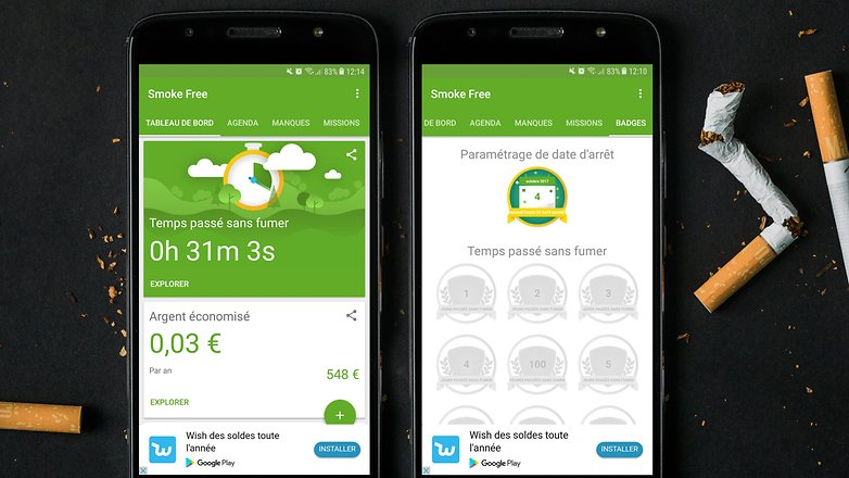AndroidPIT smoke free
