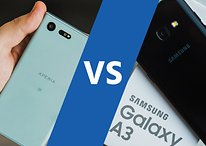 Sony Xperia X Compact vs Samsung Galaxy A3 (2017): small, cute and tough?