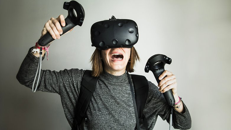 AndroidPIT htc vive hands on 3586