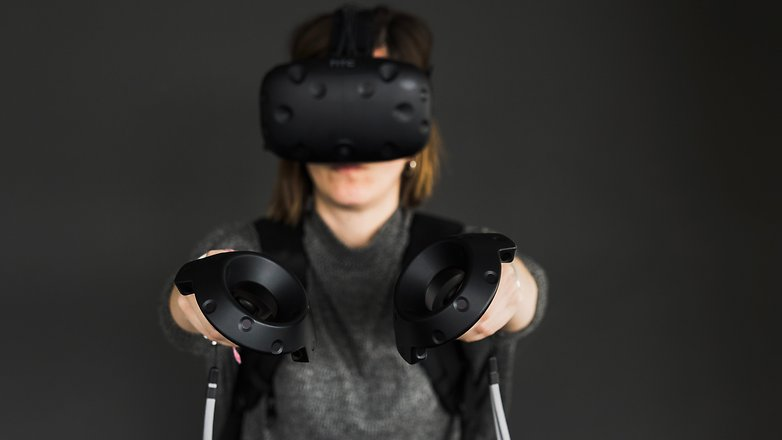 AndroidPIT htc vive hands on 3658