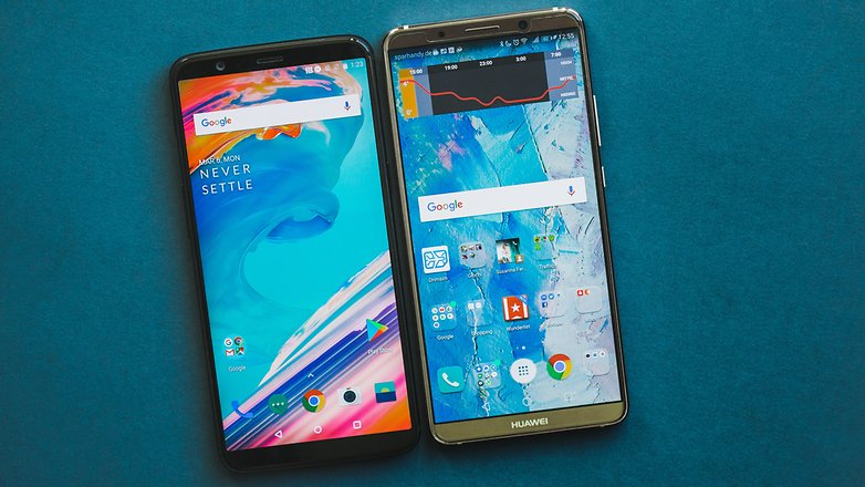 AndroidPIT huawei mate 10 pro vs oneplus 5t 5848